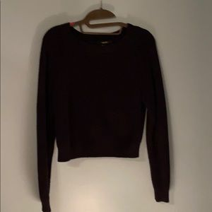 Forever 21 Black Knit Sweater